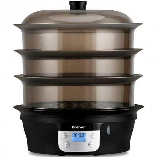 20 qt Electric Food Steamer Digital Vegetable Pot Cooker