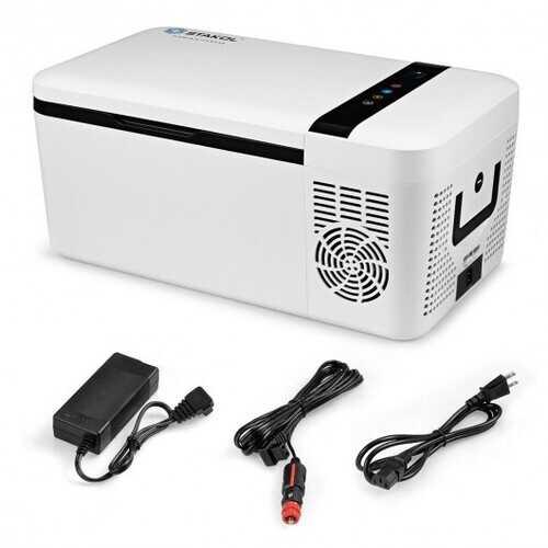 16 Quart Portable Car Compressor Camping Refrigerator