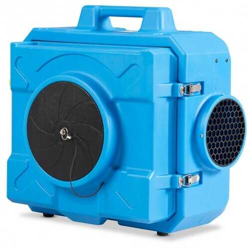 Filtration System Negative Machine Airbourne Cleaner HEPA Scrubber Air Purifier