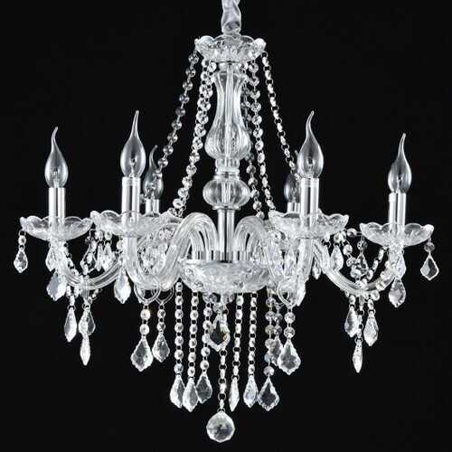Elegant Crystal Chandelier Ceiling Light