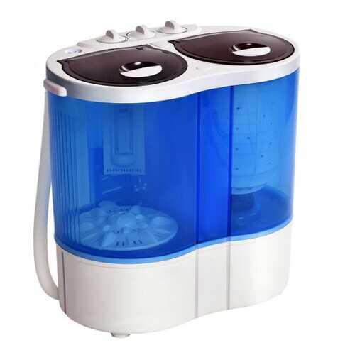 Portable Compact Twin Tub Mini Washing Machine