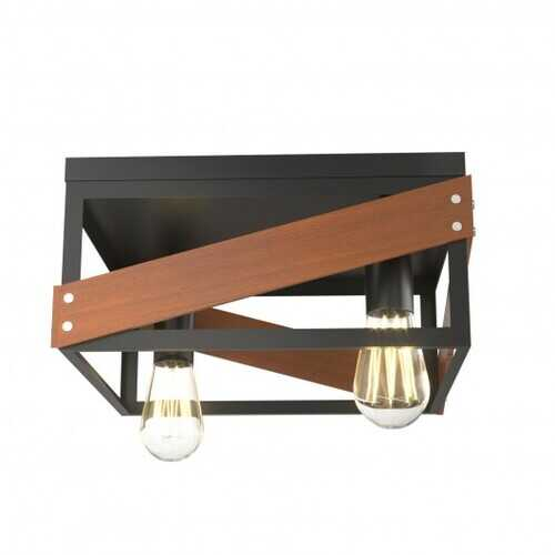Living Room Adjustable Rustic Ceiling Geometric Lamp