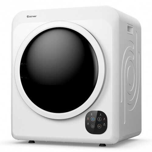 1700W Electric Tumble Laundry Dryer Steel Tub 13.2 lbs/3.22 Cu.Ft