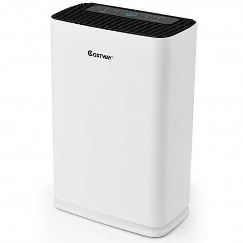 800 sq.ft Air Purifier True HEPA Filter Carbon Filter Air Cleaner Home Office