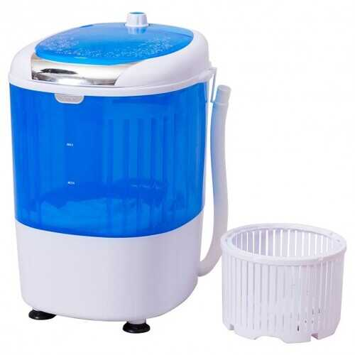 5.5 lbs Portable Mini Semi Auto Washing Machine