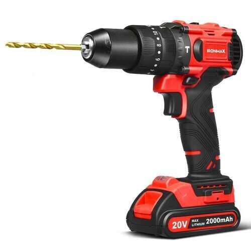 20V Cordless Brushless Hammer Drill Kit