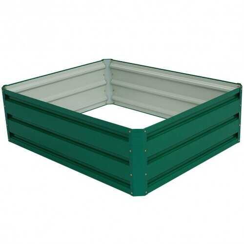 "39.5"" x 31.5"" Patio Raised Garden Bed for Vegetable Flower Planting"