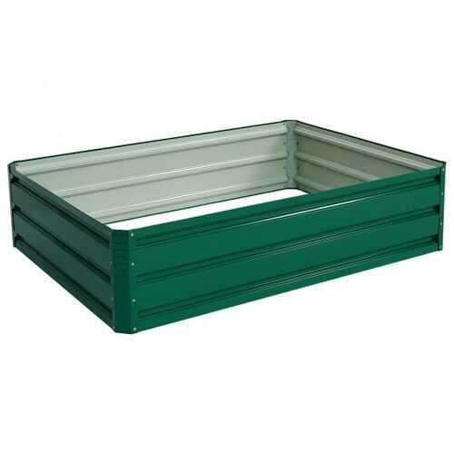 "47.5"" x 35.5"" Patio Raised Garden Bed Vegetable Flower Planter"