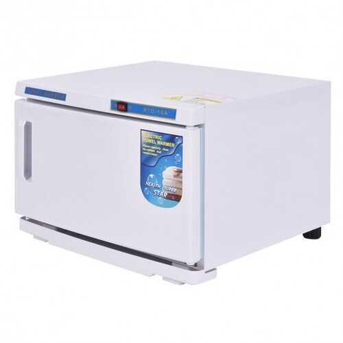 2-in-1 Hot Towel Warmer Cabinet UV Sterilizer