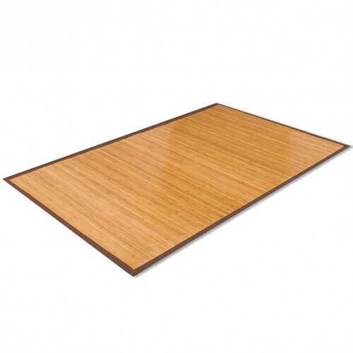 5' x 8' Bamboo Area Rug Floor Carpet