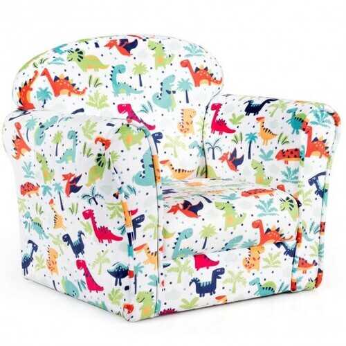 Household Toddler Furnishings Children Armrest Cute Lovely Single Sofa