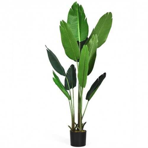 5.3 FT Artificial Decorative Tropical  Indoor-Outdoor Tree
