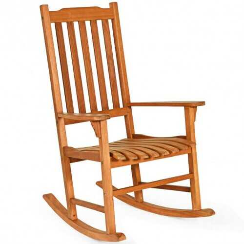 Outdoor Rocking Chair Single Rocker for Patio Deck