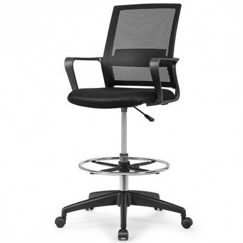 Drafting Chair Tall Office Chair with Adjustable Height