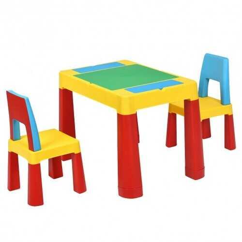 7 in 1 Kids Activity Storage Table Set