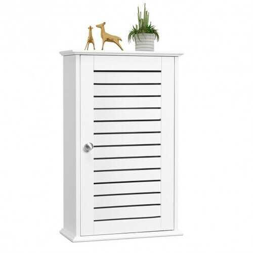 Wall Mount Medicine Cabinet Multifunction Storage Organizer