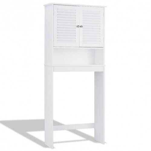 Bathroom Space Saver Toilet Shelves Storage Cabinet