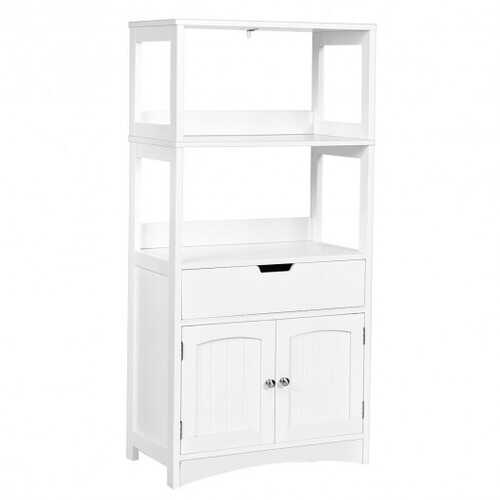 Bathroom Storage Cabinet with Drawer and Shelf Floor Cabinet