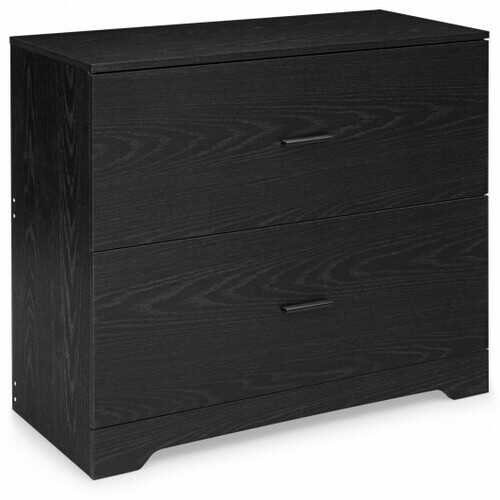 2-Drawer Lateral File Cabinet with Adjustable Bars for Home and Office