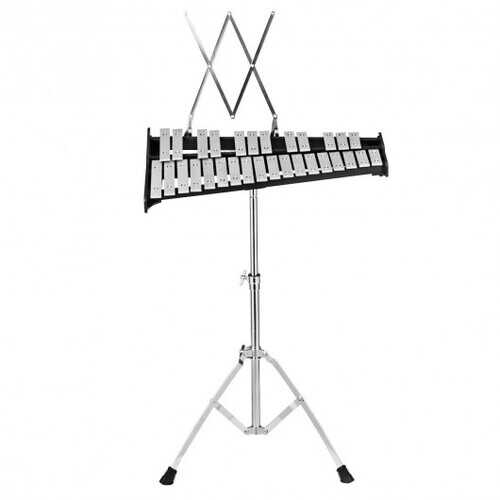 30 Notes Percussion with Practice Pad Mallets Sticks Stand