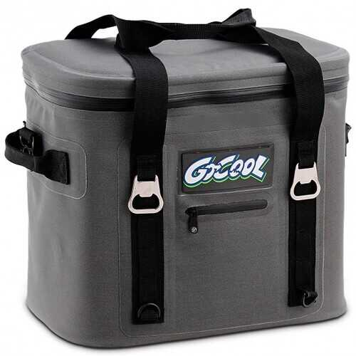 24-Can Soft Cooler Water-Resistant Leakproof Insulated Lunch Bag