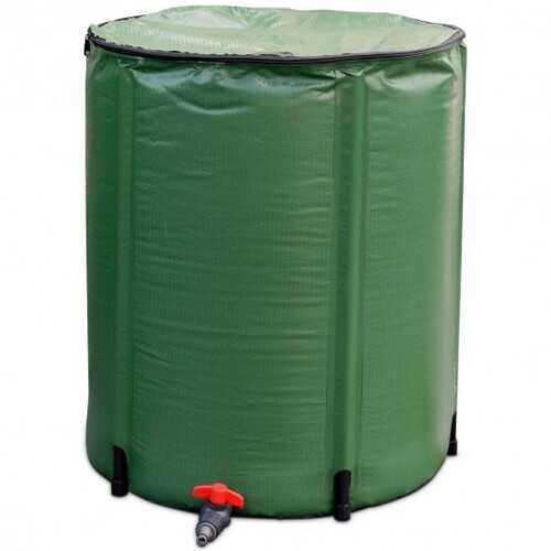 60 Gallon Portable Collapsible Rain Barrel Water Collector