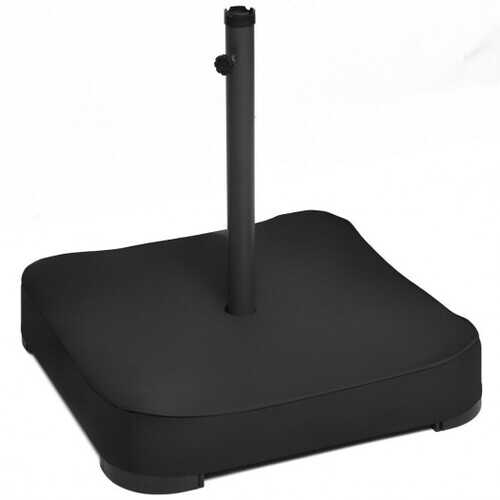 Patio Market Offset Umbrella Base Stand with Sandbags