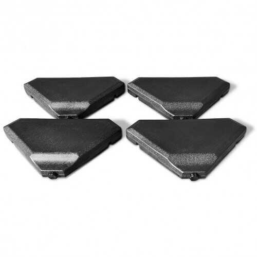 4 Pcs 195 lbs Patio Cantilever Offset Umbrella Base Weight Sand