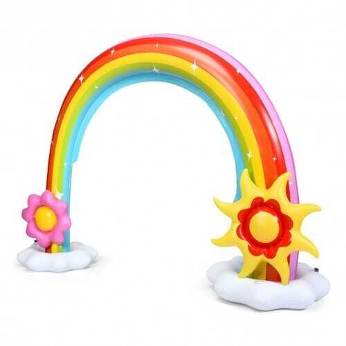 Summer Outdoor Inflatable Rainbow Sprinkler