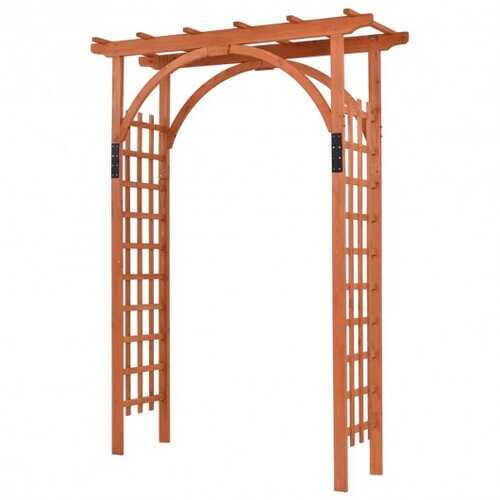 Garden Archway Arch Lattice Trellis Pergola for Climbing Plants and Outdoor Wedding Bridal Decor