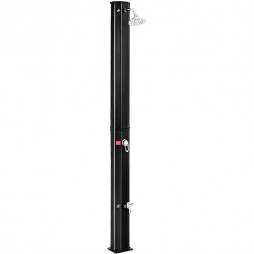 Outdoor Solar Heating 7.2 Ft Adjustable Shower Head