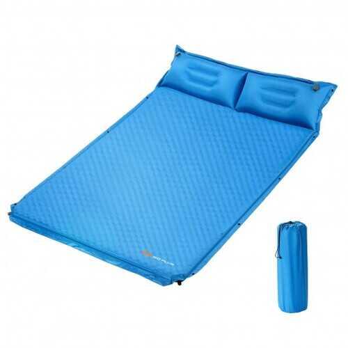 Self-Inflating Camping Outdoor Sleeping Mat with Pillows Bag