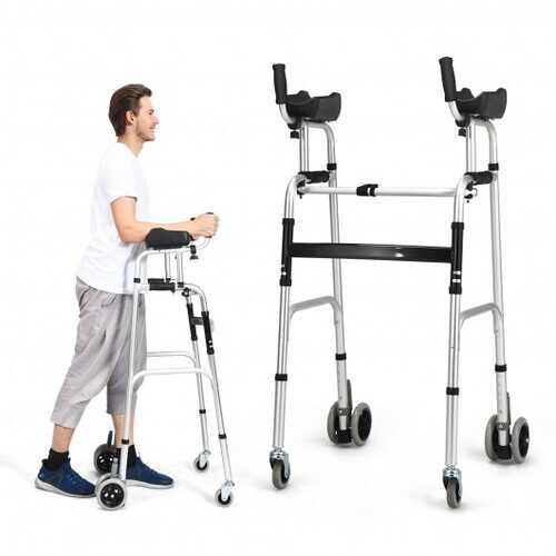 Foldable Standard Aluminum Alloy Walking Walker