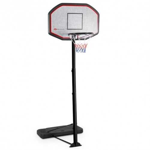 "43"" Indoor/Outdoor Height Adjustable Basketball Hoop"