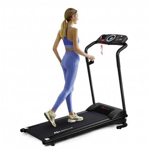 1 HP Electric Motorized Power Folding Walking/Running Treadmill Machine with Operation Display