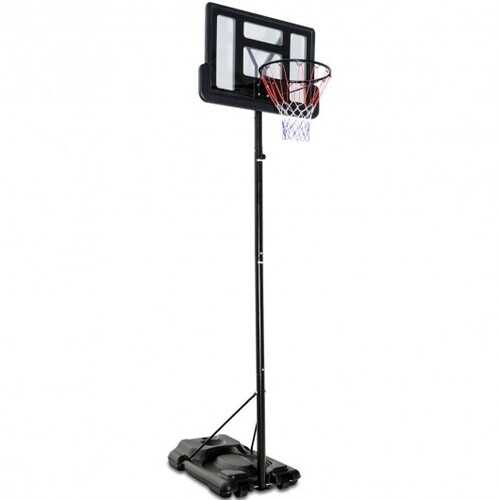 Height Adjustable Portable Shatterproof Backboard Basketball Hoop