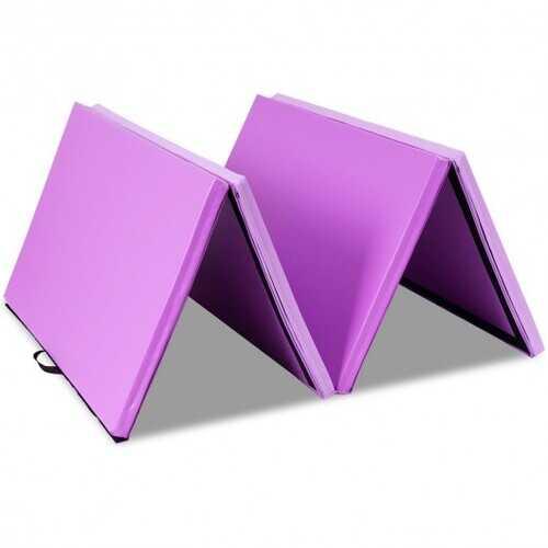 "4' x 10' x 2"" Thick Folding Gym Gymnastic Mat"