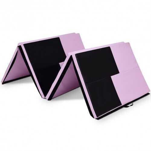 """4' x 10' x 2"""" Gymnastics Mat Folding Portable Exercise Aerobics Exercise Mat"""