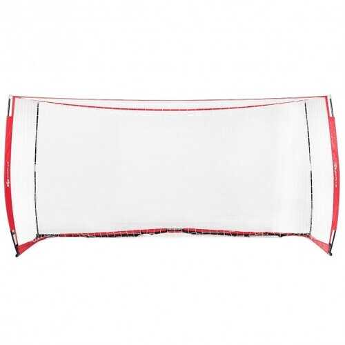 6'/12' Durable Bow Style Soccer Goal Net with Bag-8' x 4'