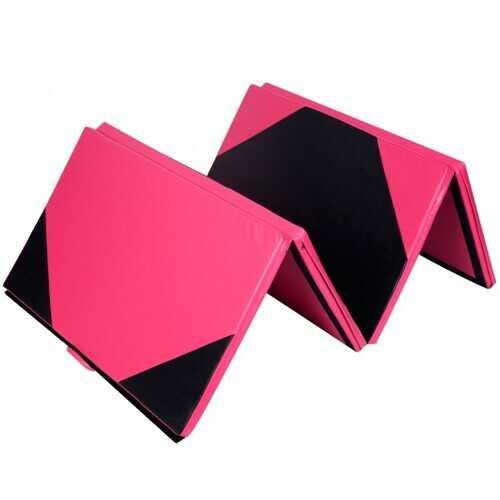 """4'x10'x2"""" Extra Thick Anti-Tear Folding Gymnastics Exercise Mat"""