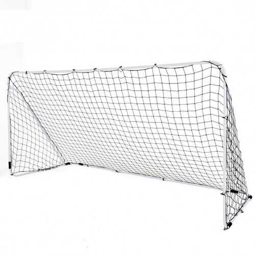 Outdoor Sports Weatherproof Steel Football Goal Net-6' x 4'