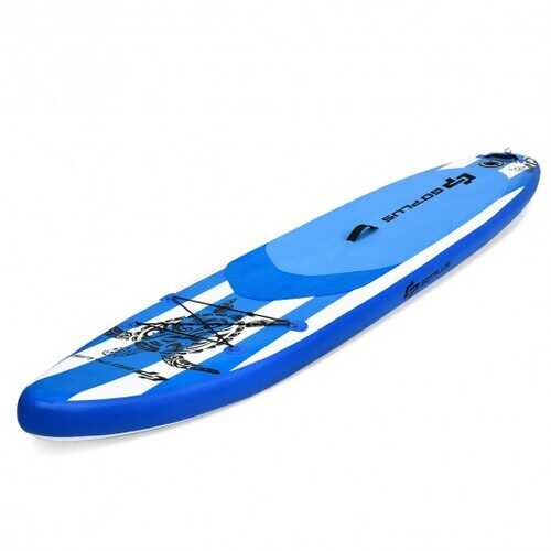 11' Inflatable Adjustable Paddle Board with Carry Bag