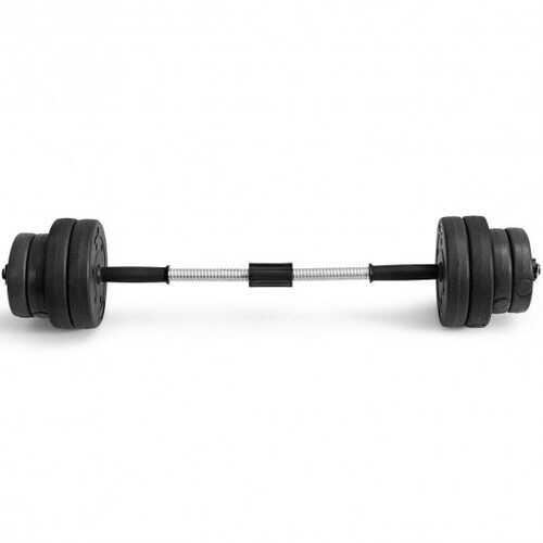 66 Lbs 16 Adjustable Plates Fitness Dumbbell