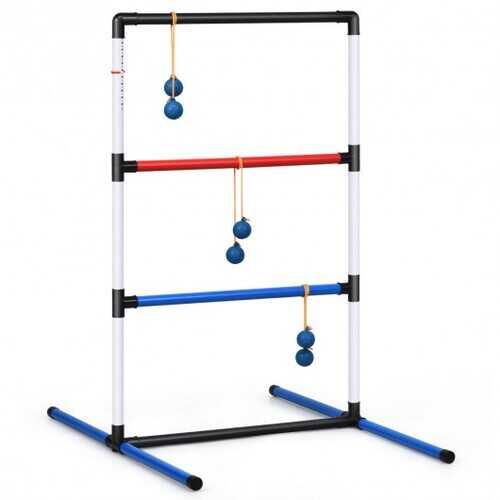 Ladder Ball Toss Game Bolas Score Tracker Carrying Bag