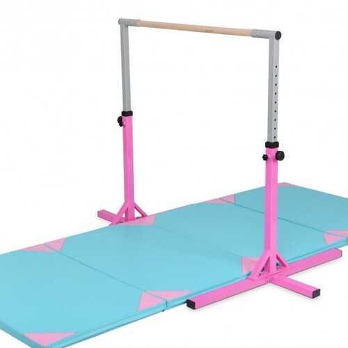 Adjustable Gymnastics Horizontal Bar for Kids