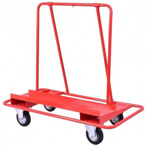 Handling Heavy Duty Sheetrock Sheet Panel Service Cart
