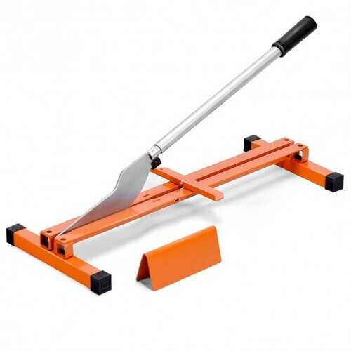 Laminate Flooring Cutter Hand Tool V-Support Heavy Duty Steel
