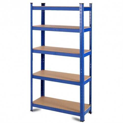 "29.5"" x  59"" Adjustable 5-layer 2000 lbs Capacity Tool Shelf"