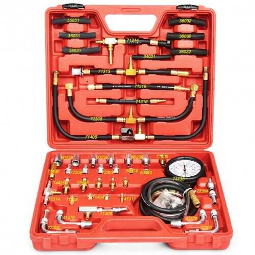 TU-443 Fuel Injection Pump Pressure Tester Gauge Tool Kit