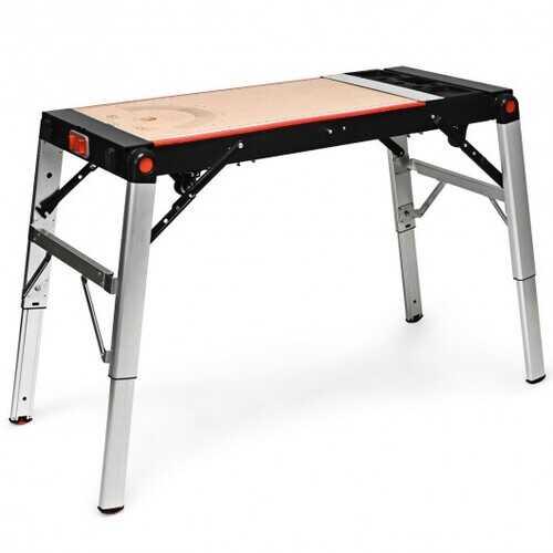 5 in 1 Multipurpose Folding Workbench Portable Scaffold Carrier